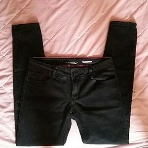 Lovesick Black Skinny Jeans Hot Topic